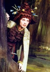 A Hétpettyes lovag című mesejáték Boróka hercegnője (Kővári Judit)