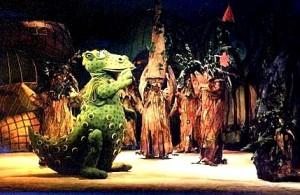 Süsü a sárkány - A Nyíregyházi Móricz Zsigmond Színház előadásában (kép forrása: www.moriczszinhaz.hu)
