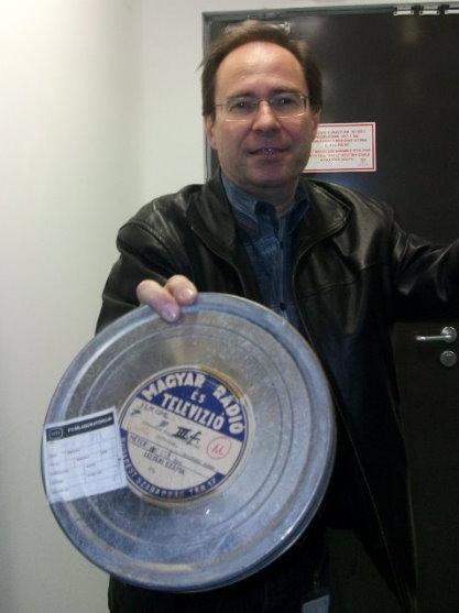Kandikó István a Filmarchívum legelső darabját mutatja